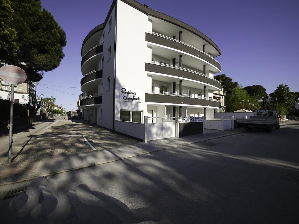 esterno condominio nuova costruzione