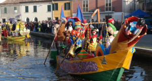 Fervono i preparativi per il Carnevale dei Lidi ferraresi...