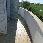 terrazza grande deila tipologia verticale