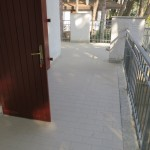 terrazza chiusa da cancellino