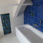 vasca nel piano sopra - doccia bagno a terra