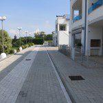 ingresso e posti auto