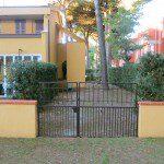 ingresso giardino retro